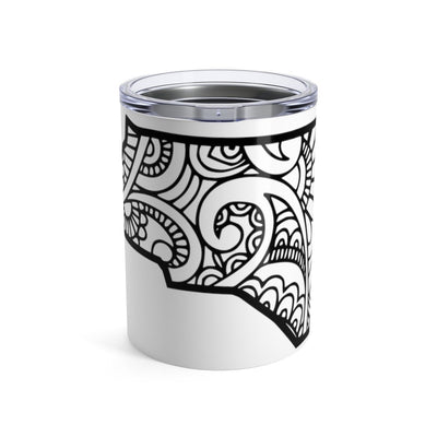 Leanne & Co. Mug 10oz North Carolina Doodle 10oz Tumbler