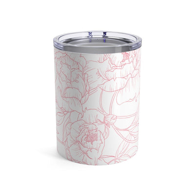 Leanne & Co. Mug 10oz Peony Outline 10oz Tumbler