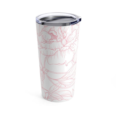 Leanne & Co. Mug 20oz Peony Outline 20oz Tumbler