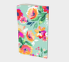 Leanne & Co. Notebook Teal Flower Small Notebook