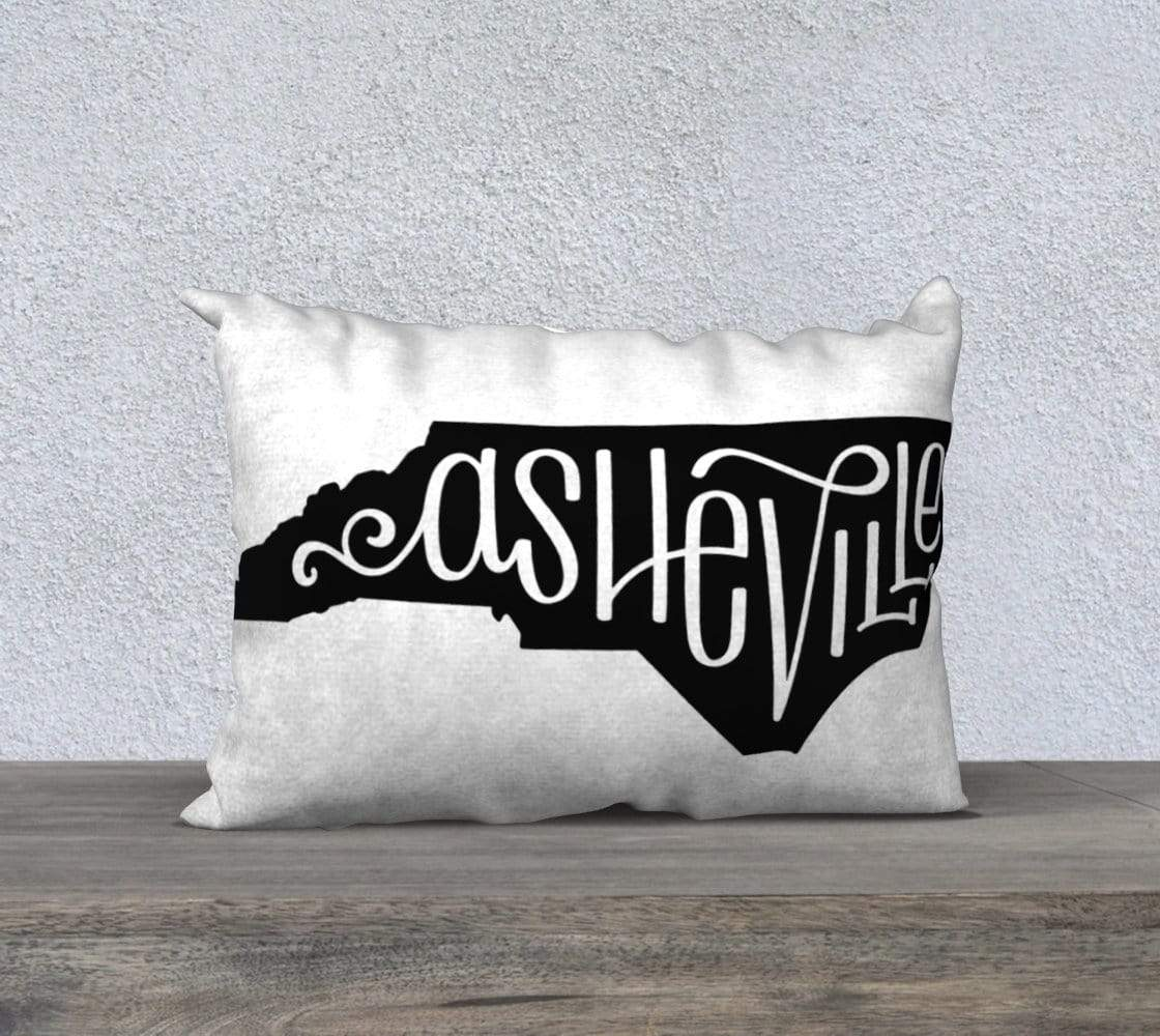 Leanne & Co. Pillow Asheville, NC Throw Pillow