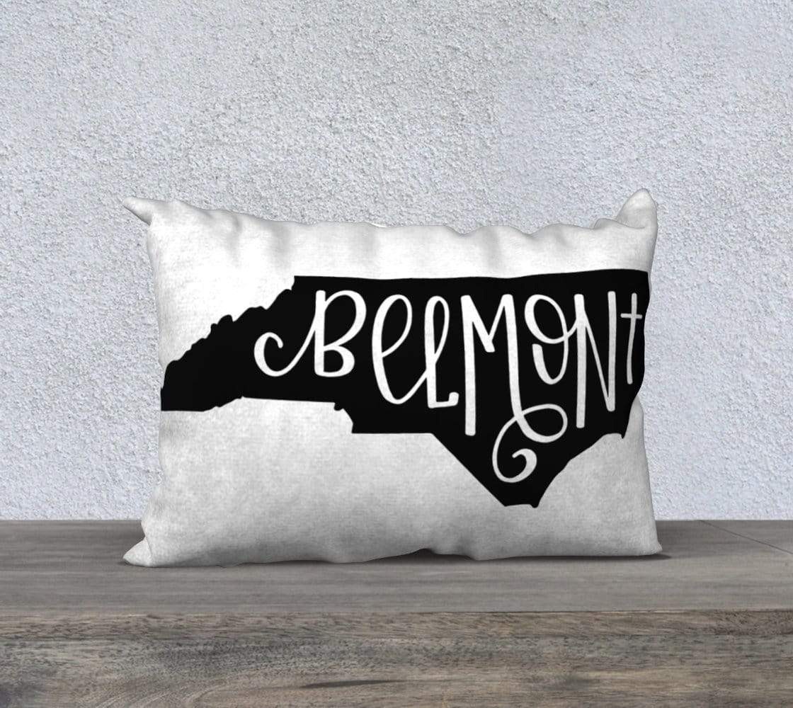 Leanne & Co. Pillow Belmont, NC Throw Pillow