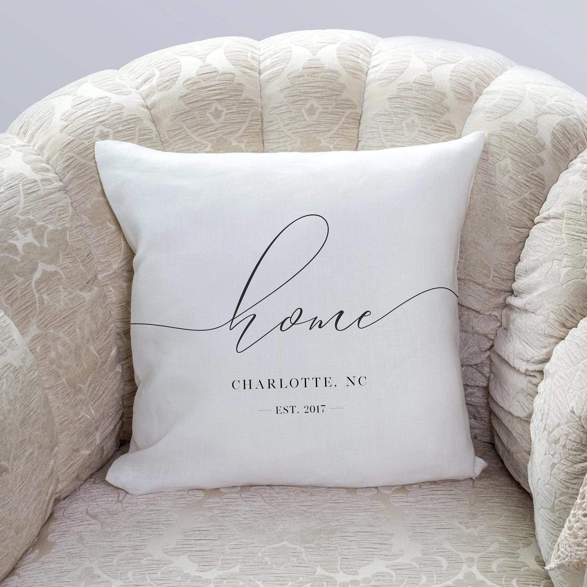 Leanne & Co. Pillow Home Established Decorative Throw Pillow