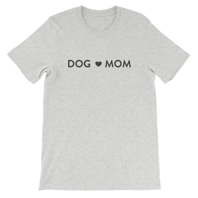 Leanne & Co. Shirt Athletic Heather / S Dog Mom Short-Sleeve Unisex T-Shirt