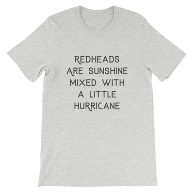 Leanne & Co. Shirt Athletic Heather / S Redheads Are Sunshine Short-Sleeve Unisex T-Shirt