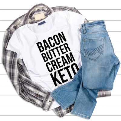 Leanne & Co. Shirt Bacon Butter Cream Keto Short-Sleeve Unisex T-Shirt