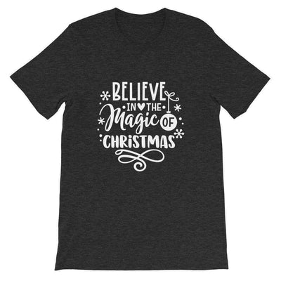Leanne & Co. Shirt Believe The Magic of Christmas Short-Sleeve Unisex T-Shirt