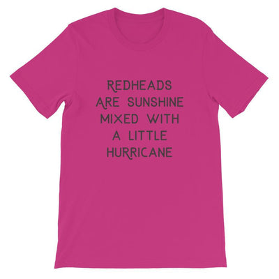 Leanne & Co. Shirt Berry / S Redheads Are Sunshine Short-Sleeve Unisex T-Shirt