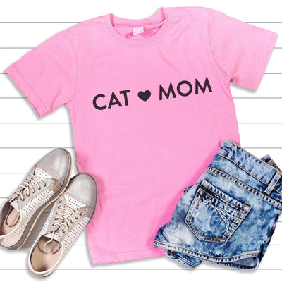Leanne & Co. Shirt Cat Mom Short-Sleeve Unisex T-Shirt
