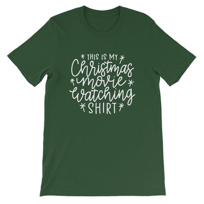Leanne & Co. Shirt Forest / S This Is my Christmas Movie Watching Short-Sleeve Unisex T-Shirt
