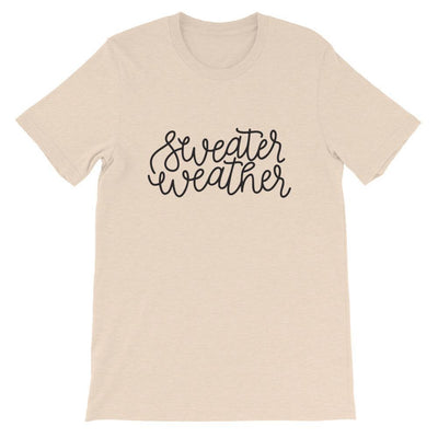 Leanne & Co. Shirt Heather Dust / S Sweater Weather Short-Sleeve Unisex T-Shirt