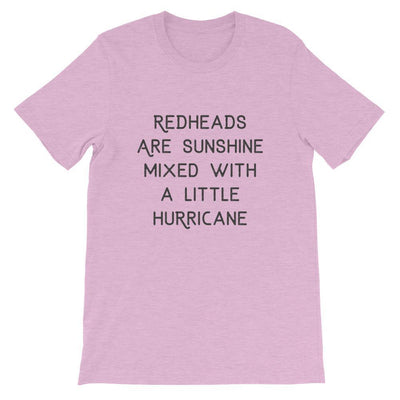 Leanne & Co. Shirt Heather Prism Lilac / XS Redheads Are Sunshine Short-Sleeve Unisex T-Shirt