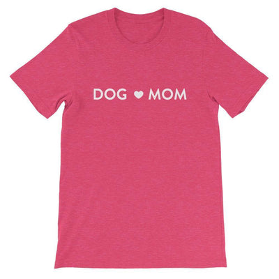 Leanne & Co. Shirt Heather Raspberry / S Dog Mom Short-Sleeve Unisex T-Shirt