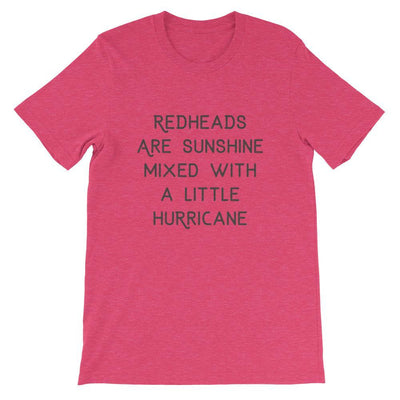 Leanne & Co. Shirt Heather Raspberry / S Redheads Are Sunshine Short-Sleeve Unisex T-Shirt