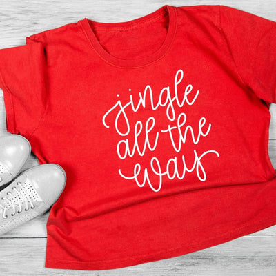 Leanne & Co. Shirt Jingle All The Way Short-Sleeve Unisex T-Shirt