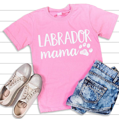 Leanne & Co. Shirt Labrador Mama Short-Sleeve Unisex T-Shirt