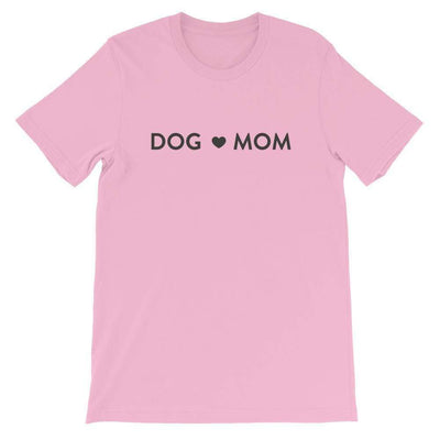 Leanne & Co. Shirt Lilac / S Dog Mom Short-Sleeve Unisex T-Shirt