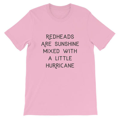 Leanne & Co. Shirt Lilac / S Redheads Are Sunshine Short-Sleeve Unisex T-Shirt