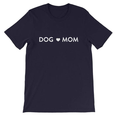Leanne & Co. Shirt Navy / XS Dog Mom Short-Sleeve Unisex T-Shirt