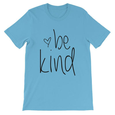 Leanne & Co. Shirt Ocean Blue / S Be Kind Short-Sleeve Unisex T-Shirt