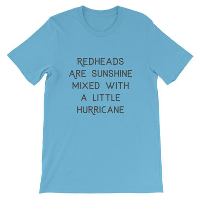 Leanne & Co. Shirt Ocean Blue / S Redheads Are Sunshine Short-Sleeve Unisex T-Shirt