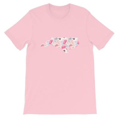 Leanne & Co. Shirt Pink / S North Carolina Peonies Short-Sleeve Unisex T-Shirt