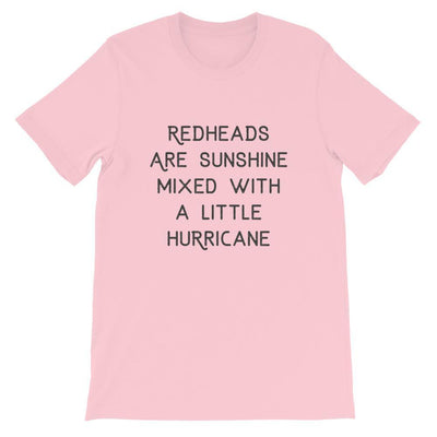 Leanne & Co. Shirt Pink / S Redheads Are Sunshine Short-Sleeve Unisex T-Shirt