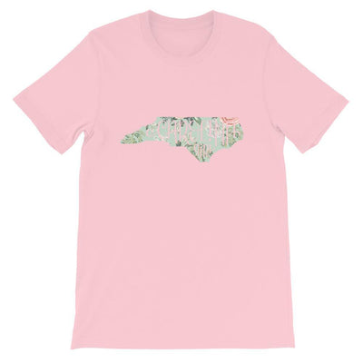 Leanne & Co. Shirt Pink / S Vintage Floral Carolina Girl Short-Sleeve Unisex T-Shirt