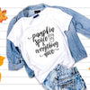 Leanne & Co. Shirt Pumpkin Spice and Everything Nice Short-Sleeve Unisex T-Shirt