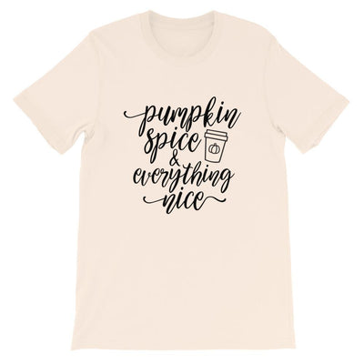 Leanne & Co. Shirt Soft Cream / S Pumpkin Spice and Everything Nice Short-Sleeve Unisex T-Shirt