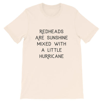 Leanne & Co. Shirt Soft Cream / S Redheads Are Sunshine Short-Sleeve Unisex T-Shirt
