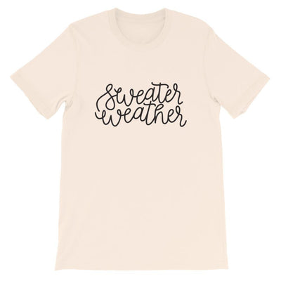 Leanne & Co. Shirt Soft Cream / S Sweater Weather Short-Sleeve Unisex T-Shirt