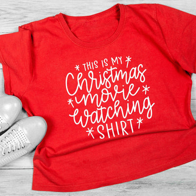Leanne & Co. Shirt This Is my Christmas Movie Watching Short-Sleeve Unisex T-Shirt