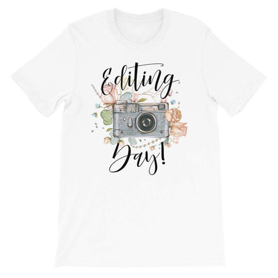 Leanne & Co. Shirt White / XS Editing Day Short-Sleeve Unisex T-Shirt
