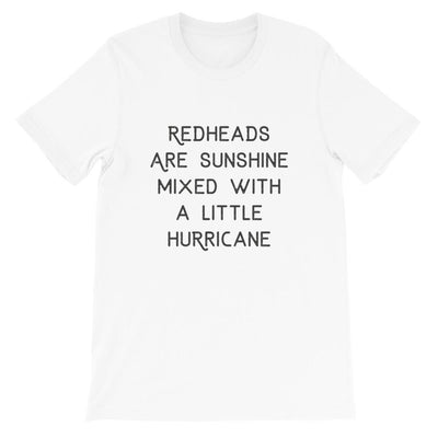 Leanne & Co. Shirt White / XS Redheads Are Sunshine Short-Sleeve Unisex T-Shirt