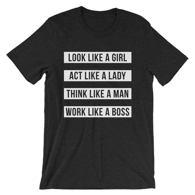 Leanne & Co. Shirt Work Like A Boss Unisex T-Shirt
