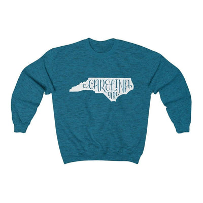 Leanne & Co. Sweatshirt Antique Sapphire / S Carolina Girl Unisex Sweatshirt