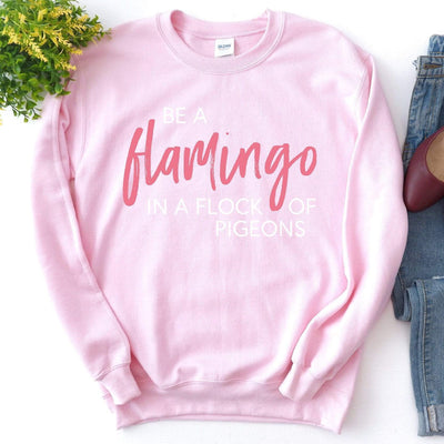 Leanne & Co. Sweatshirt Be A Flamingo Unisex Sweatshirt