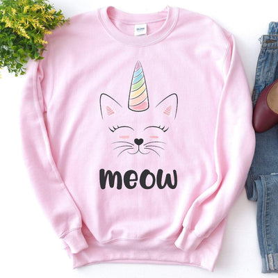 Leanne & Co. Sweatshirt Caticorn Unisex Sweatshirt