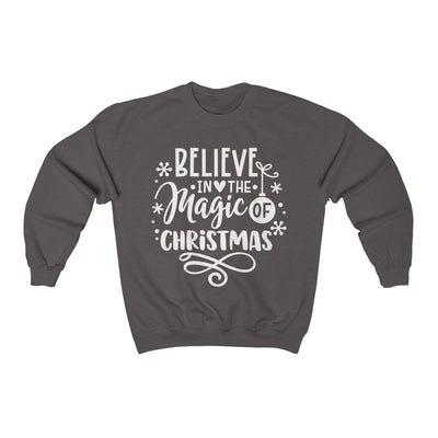 Leanne & Co. Sweatshirt Charcoal / S Believe in the Magic of Christmas Unisex Sweatshirt