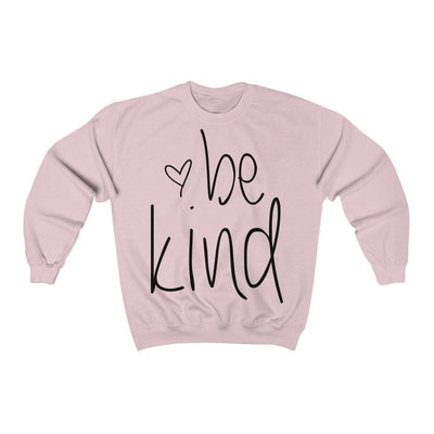Leanne & Co. Sweatshirt Light Pink / S Be Kind Unisex Sweatshirt