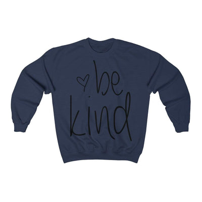 Leanne & Co. Sweatshirt Navy / S Be Kind Unisex Sweatshirt