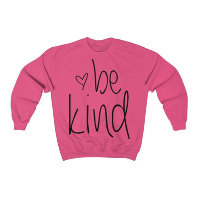 Leanne & Co. Sweatshirt Safety Pink / S Be Kind Unisex Sweatshirt