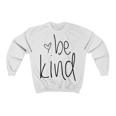 Leanne & Co. Sweatshirt White / S Be Kind Unisex Sweatshirt