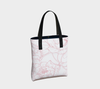 Leanne & Co. Tote Bag Peony Outline Tote Bag