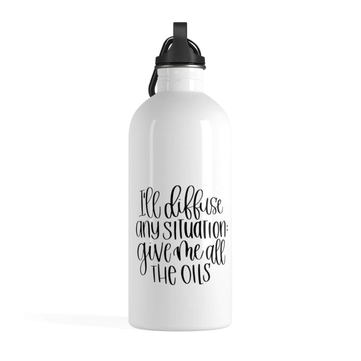 Leanne & Co. Water Bottle 14oz I'll Diffuse Any Situation Water Bottle