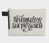 Leanne & Co. Zipper Carry-all Nevertheless She Persisted Zipper Carry-All