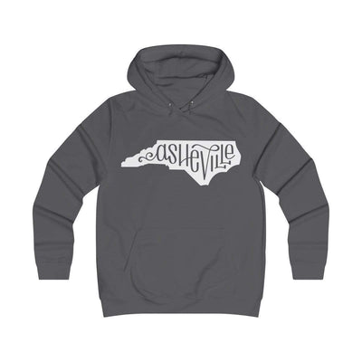 Printify Hoodie Charcoal / XS Asheville, NC Classic Unisex Hoodie