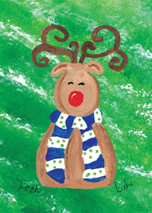 Red Nose Reindeer by Lukas and Joshua