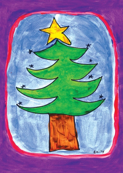 Tree with Star by Emily